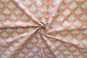 Lady McElroy Back To The 70s - Peach Melba Marlie-Care Lawn