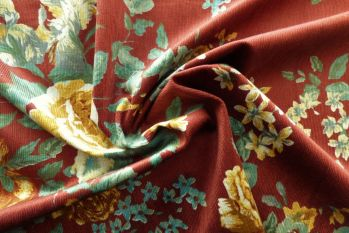 Lady McElroy Floral Rennainssance - Rouge