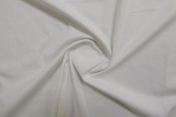 Lady McElroy Dalston - Organic Single Jersey - White Remnant - 0.5m