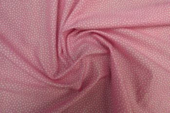 Lady McElroy Dotty About Dots - Pink Cotton Marlie Lawn