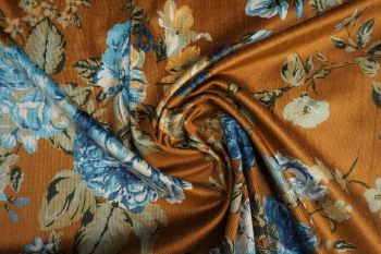 Lady McElroy Floral Rennainssance - Old Gold