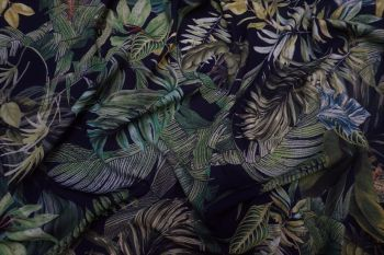 Lady McElroy Foliage Canopy Lena Crepe Remnant - 2.6m