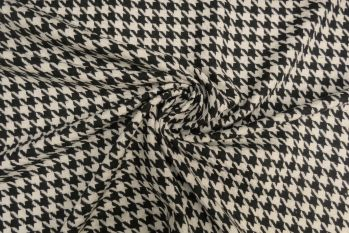 Lady McElroy Houndstooth Mono