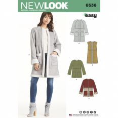 New Look 6536 Sewing Pattern