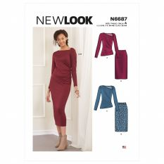 New Look 6687 Sewing Pattern