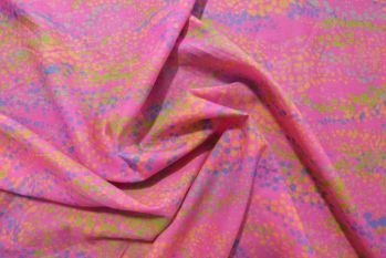 Lady McElroy Sea Bubbles - Carnation Pink Remnant - 1.4m