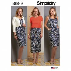 Simplicity 8849 Sewing Pattern