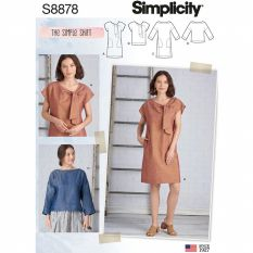 Simplicity 8878 Sewing Pattern
