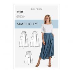 Simplicity 9109 Sewing Pattern