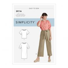 Simplicity 9116 Sewing Pattern