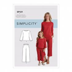 Simplicity 9121 Sewing Pattern